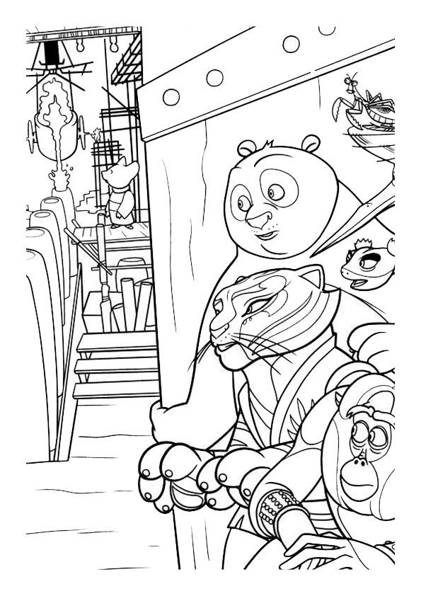 Ausmalbilder--Kung-Fu-Panda-23