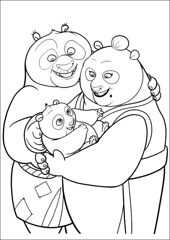 Ausmalbilder--Kung-Fu-Panda-24