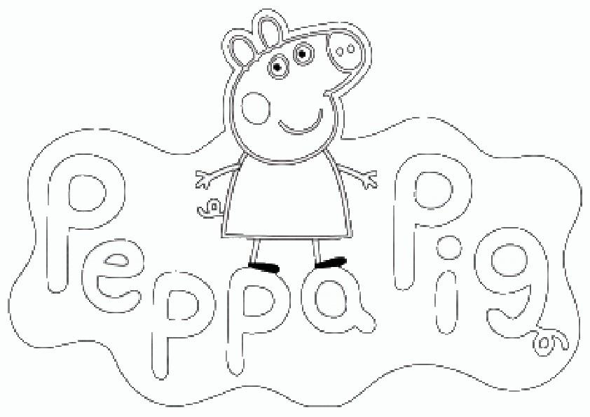 Ausmalbilder Peppa Pig 1 Ausmalbilder Malvorlagen