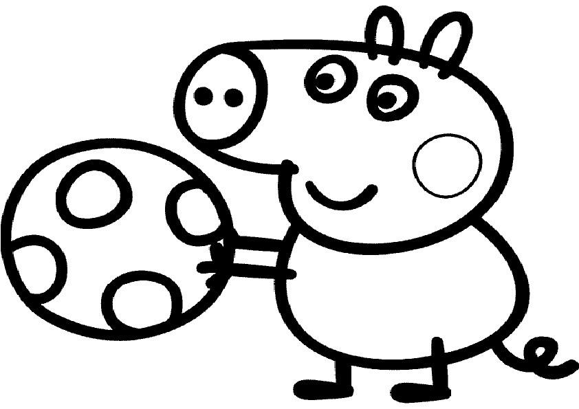 Ausmalbilder Peppa Pig-2