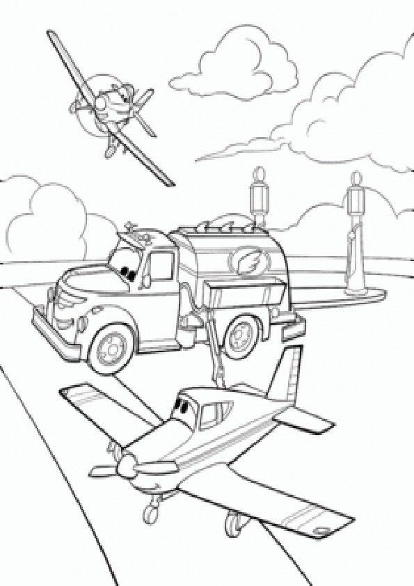 Ausmalbilder  Planes-7