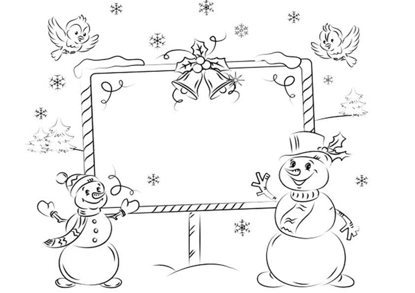 Ausmalbilder Weihnachten-10