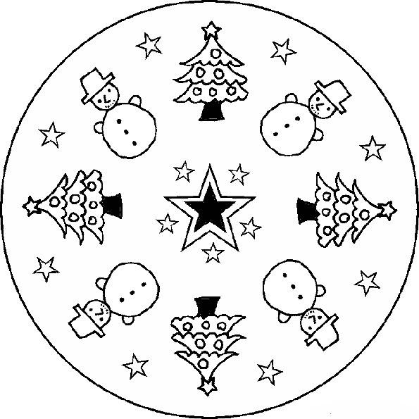 Ausmalbilder Weihnachten-21