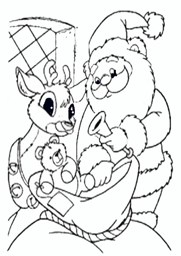 Ausmalbilder  Weihnachten-22
