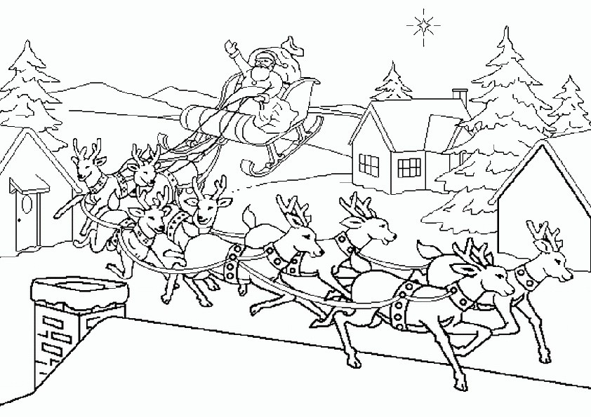 Ausmalbilder Weihnachten-31