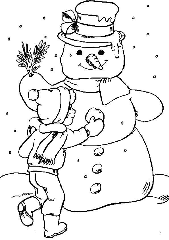 Ausmalbilder  Weihnachten-35