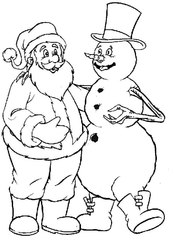 Ausmalbilder  Weihnachten-38