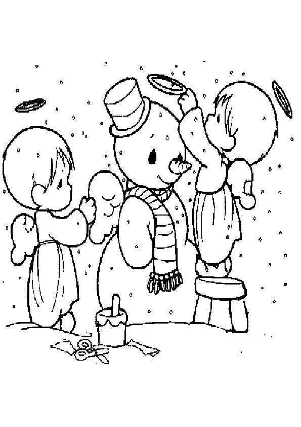 Ausmalbilder  Weihnachten-39