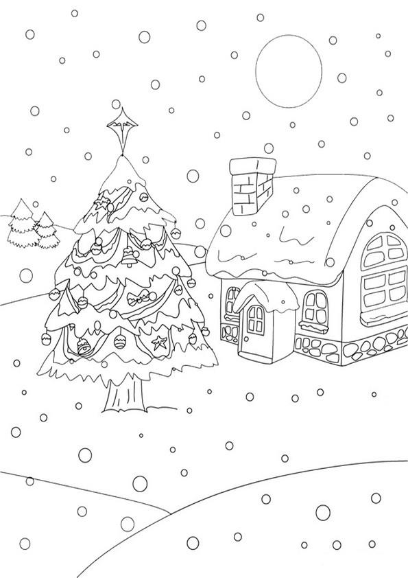Ausmalbilder---Weihnachten-7