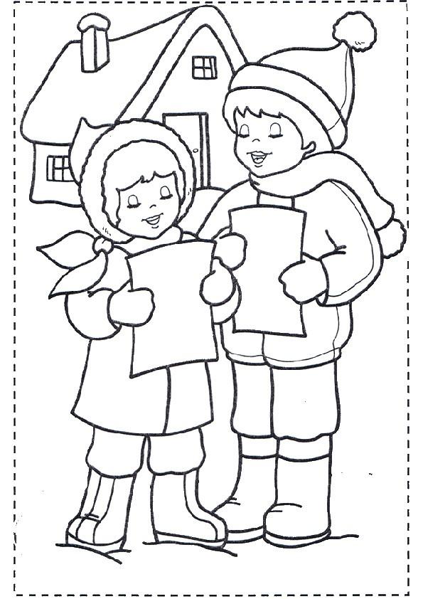Ausmalbilder Weihnachten-9