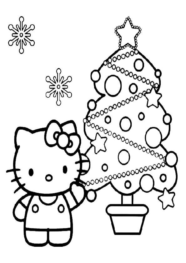 Ausmalbilder Weihnachten, Malvorlagen Weihnachten-71
