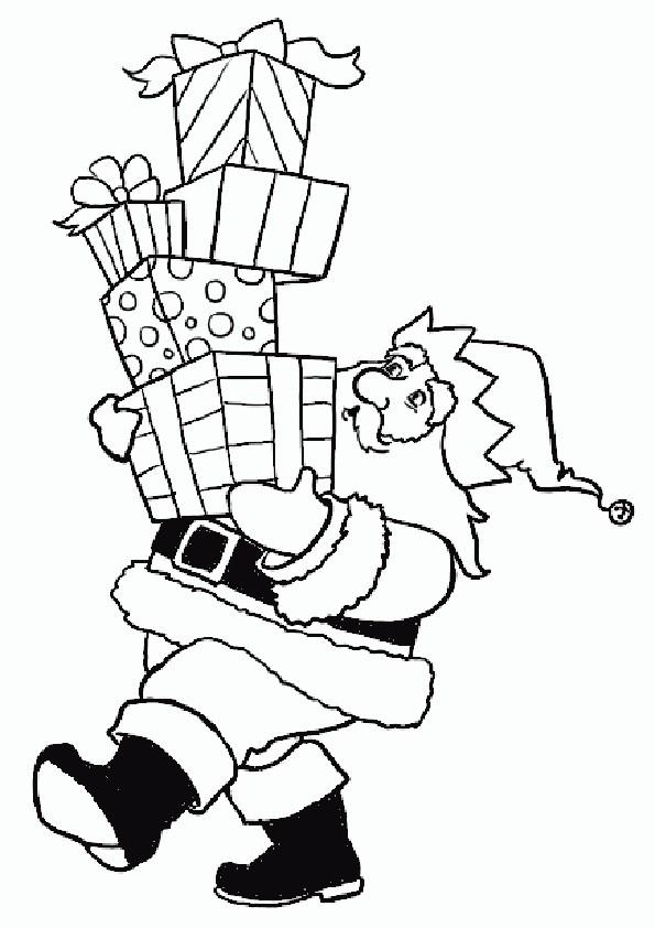 Ausmalbilder  Weihnachten-77