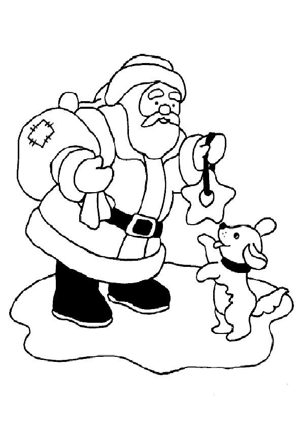 Ausmalbilder  Weihnachten-78