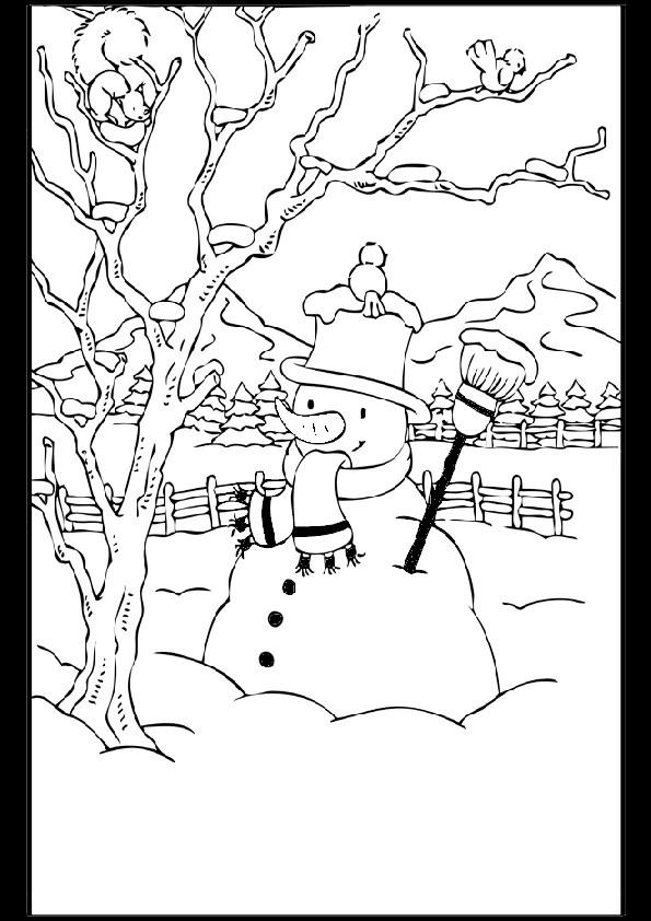 Ausmalbilder  Weihnachten-93