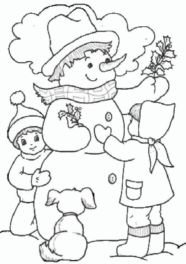 Ausmalbilder Weihnachten-98