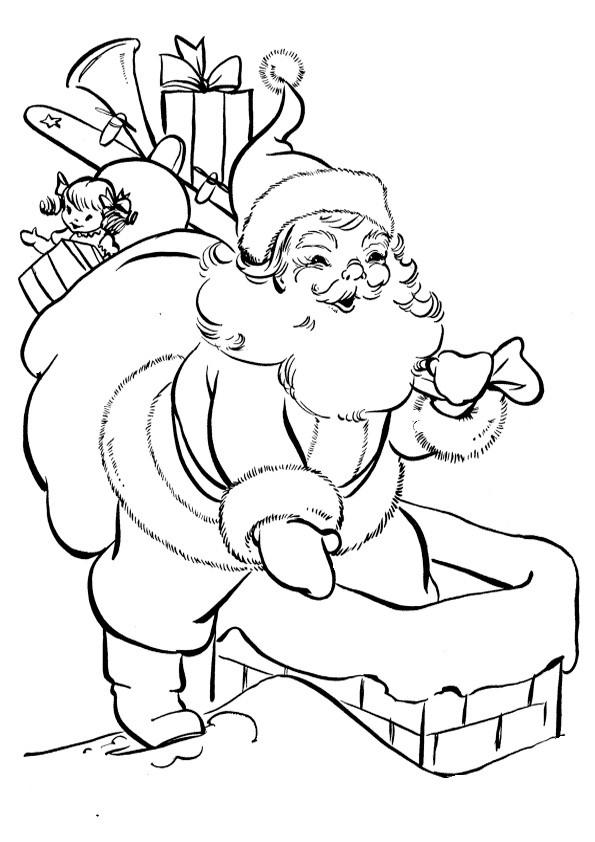 Ausmalbilder  Weihnachten79