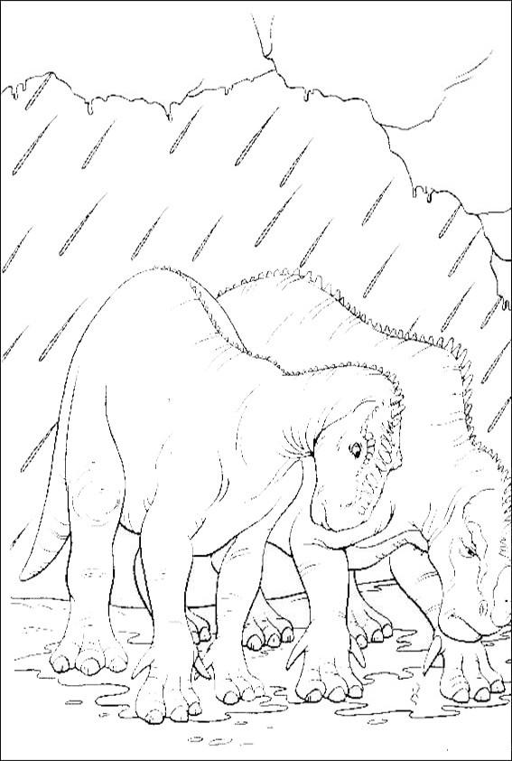 ausmalbilder   dinosaurier-16