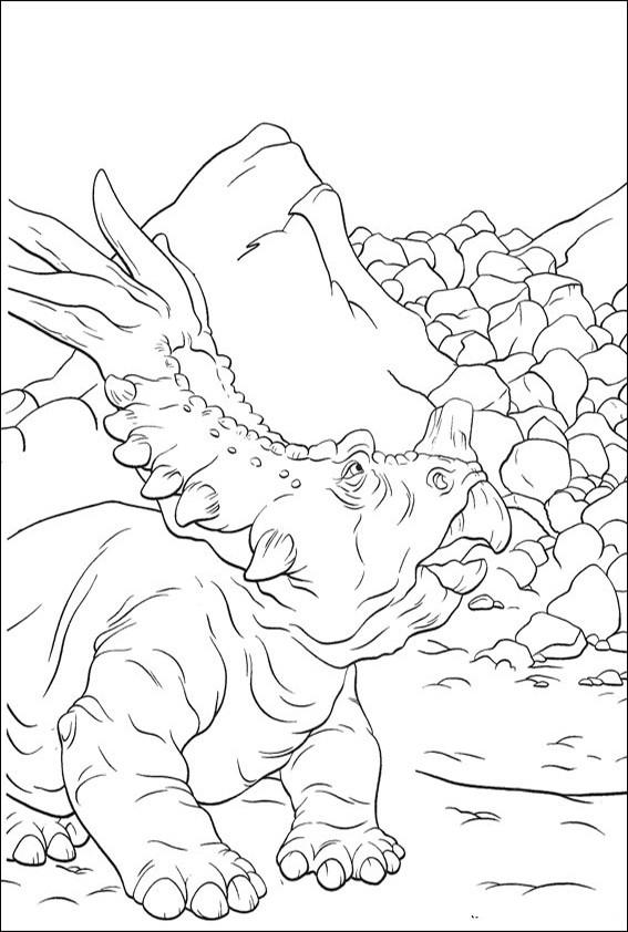 ausmalbilder dinosaurier-17