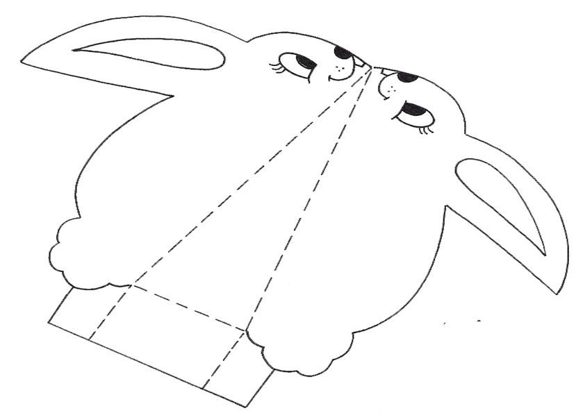 ausmalbilder ausschneiden-ostern-4