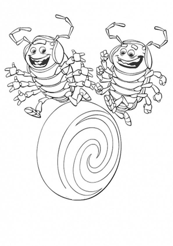ausmalbilderdas grosse krabbeln -11
