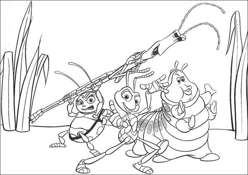ausmalbilderdas grosse krabbeln -13