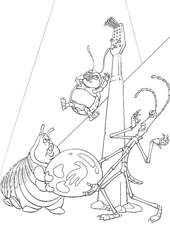 ausmalbilderdas  grosse krabbeln -8