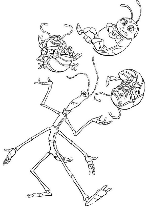 ausmalbilderdas grosse krabbeln -9