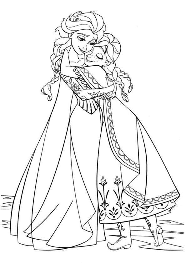 ausmalbilder eiskönigin-2
