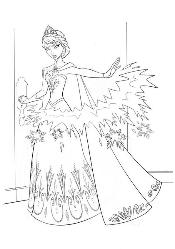 ausmalbilder  eiskönigin-9