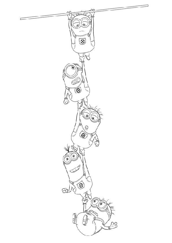 ausmalbilder minions-6