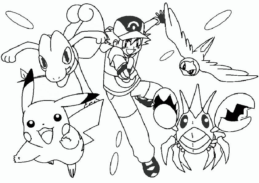 ausmalbilder pokemon-10