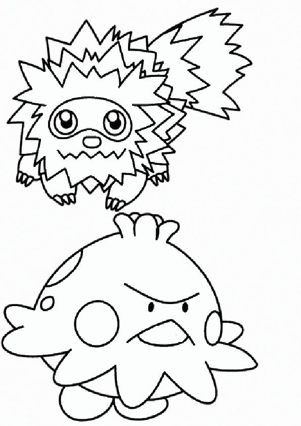 ausmalbilder pokemon-9