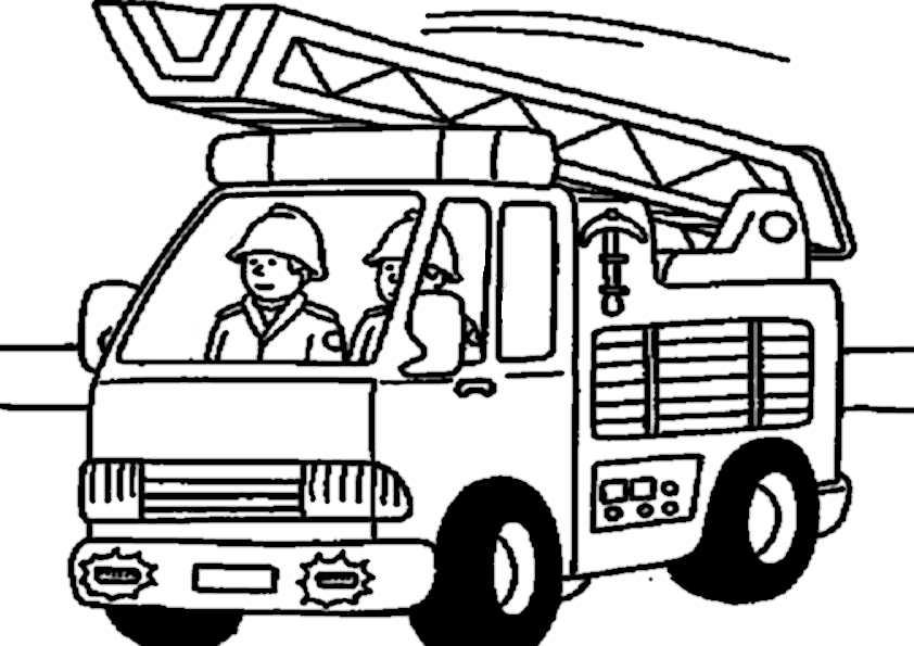 Ausmalbilder Feuerwehr 8 Ausmalbilder Malvorlagen