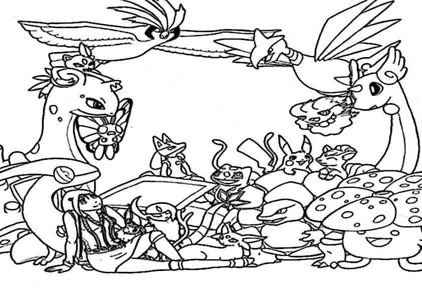 Großartig Pokémon Malvorlagen Galerie - Druckbare Malvorlagen ...