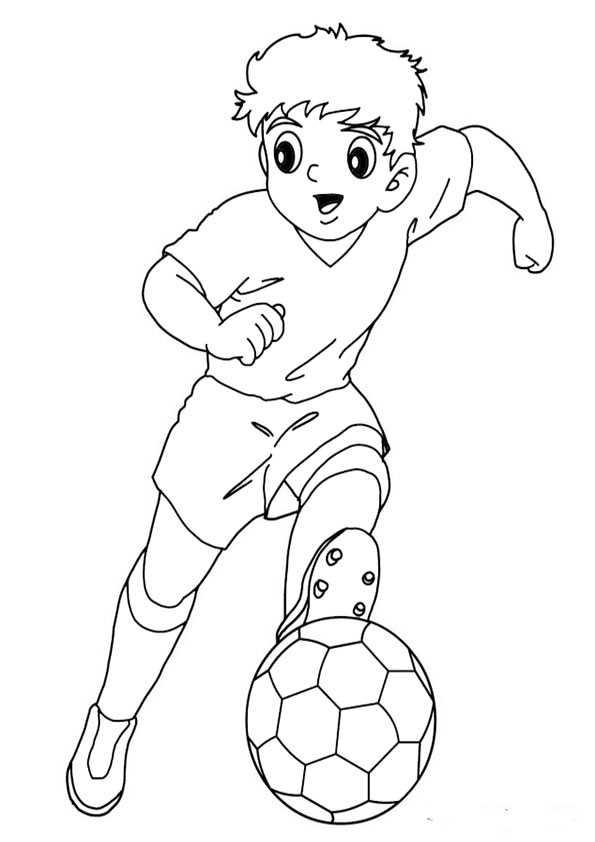 ausmalbilder fußball-8