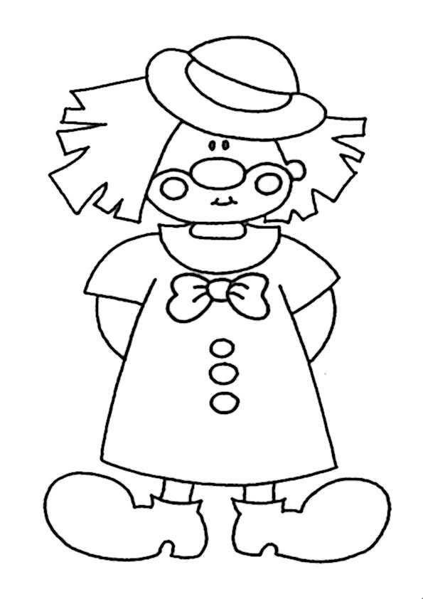 ausmalbilder clown-5
