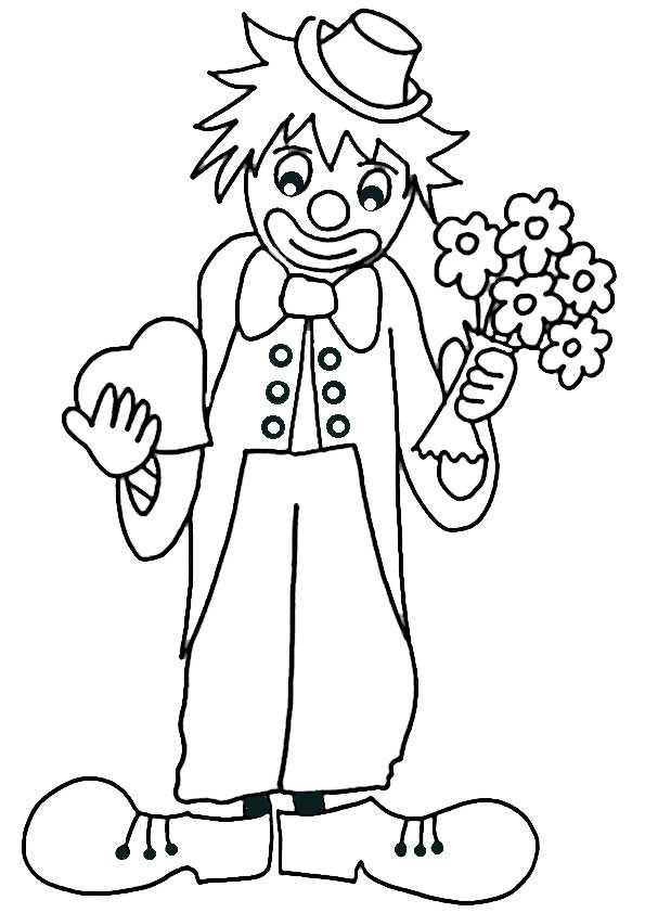 ausmalbilder clown-6