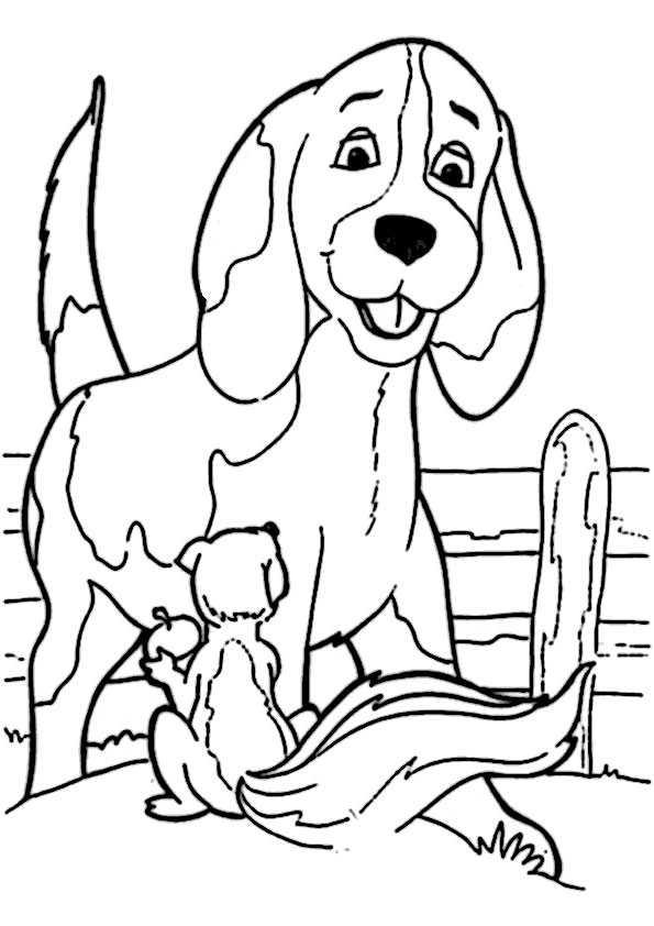ausmalbilder hunde-10