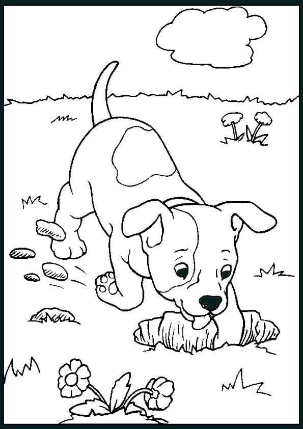 hunde ausmalbilder-13 | Ausmalbilder Malvorlagen