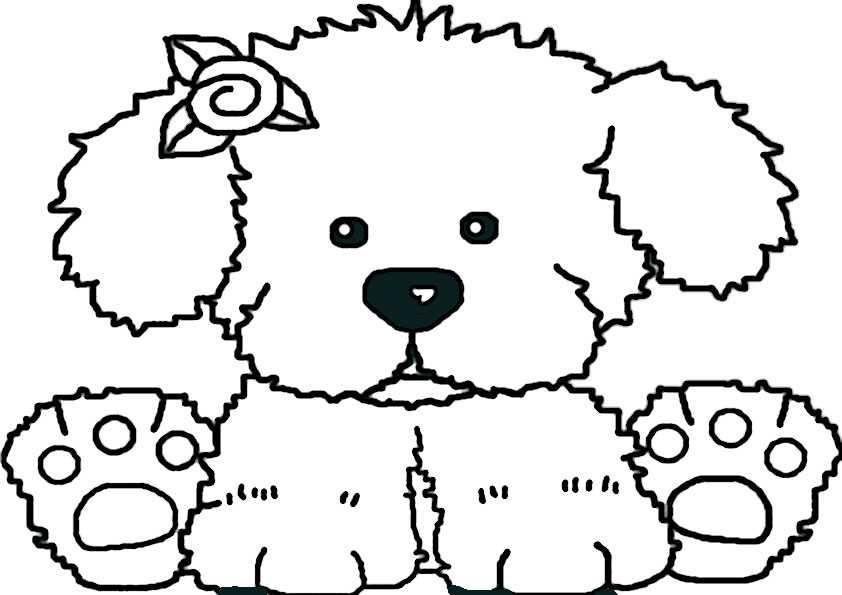 hunde ausmalbilder-15