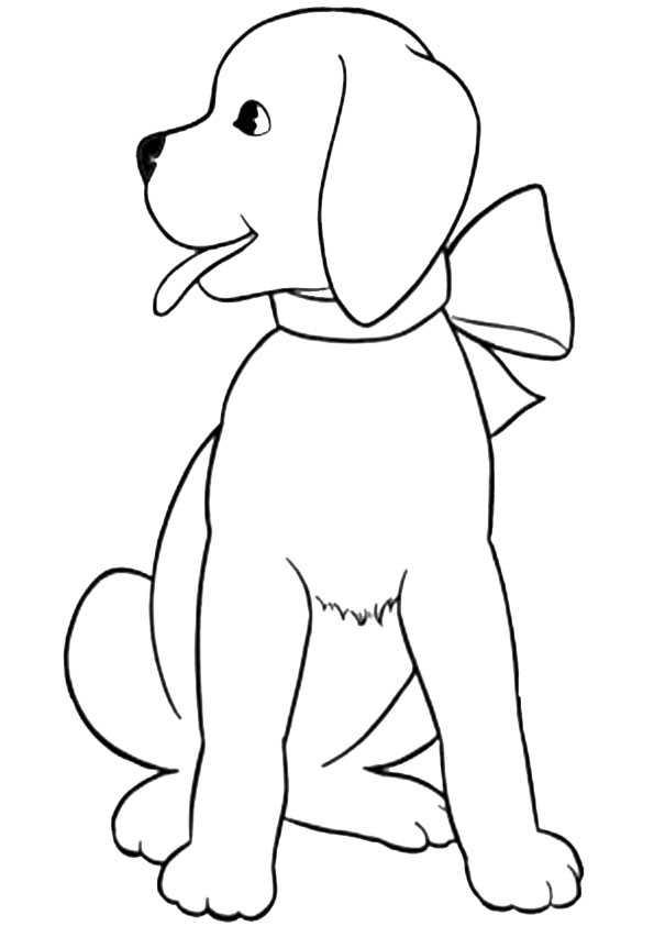 ausmalbilder hunde-5 | Ausmalbilder Malvorlagen