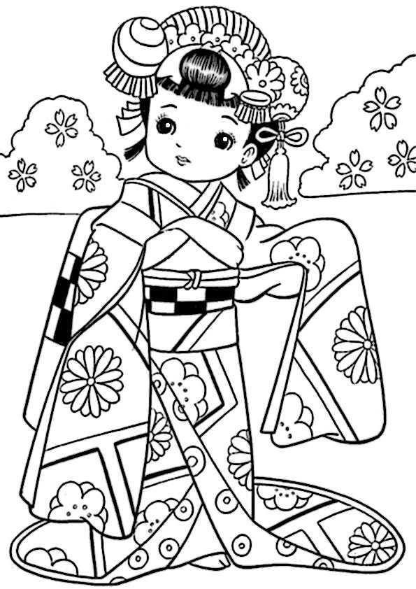 ausmalbilder japanisch -1