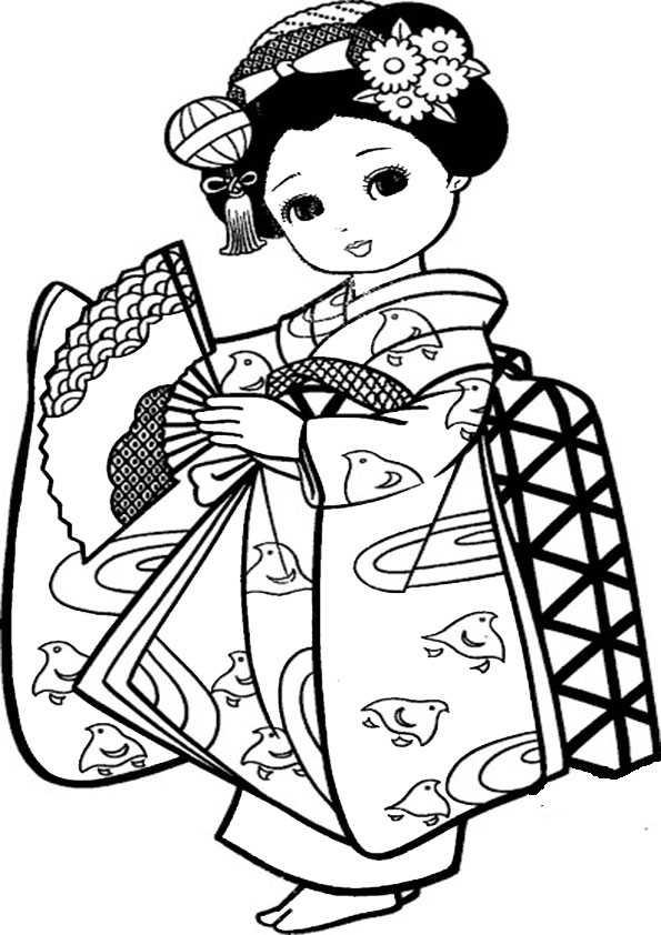 ausmalbilder japanisch -6