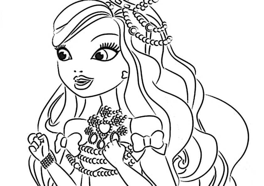 ausmalbilder ever after high-22