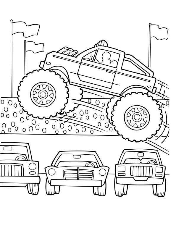 ausmalbilder monster truck-1