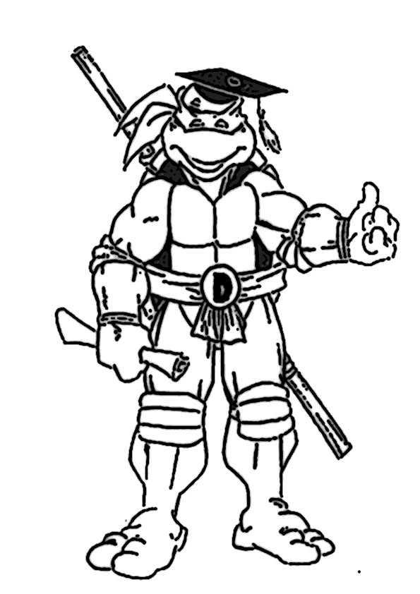 ausmalbilder ninja turtles -16