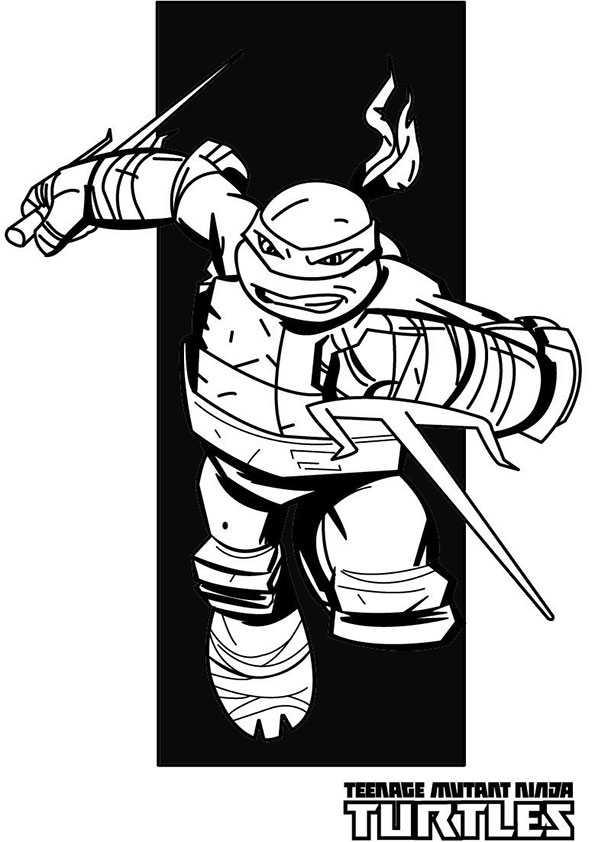 ausmalbilder ninja turtles -6
