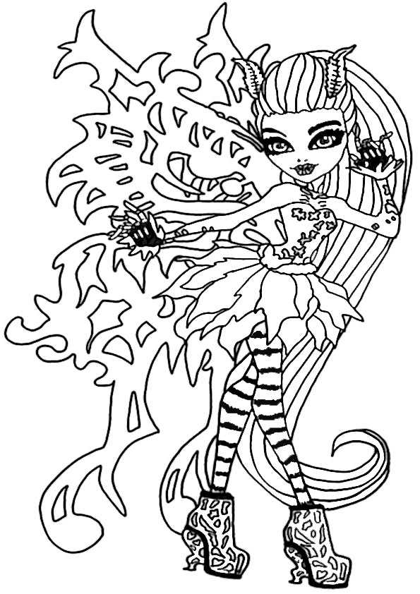 ausmalbilder monster high-101