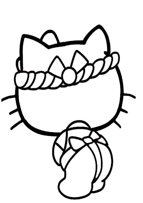 ausmalbilder hello kitty-46