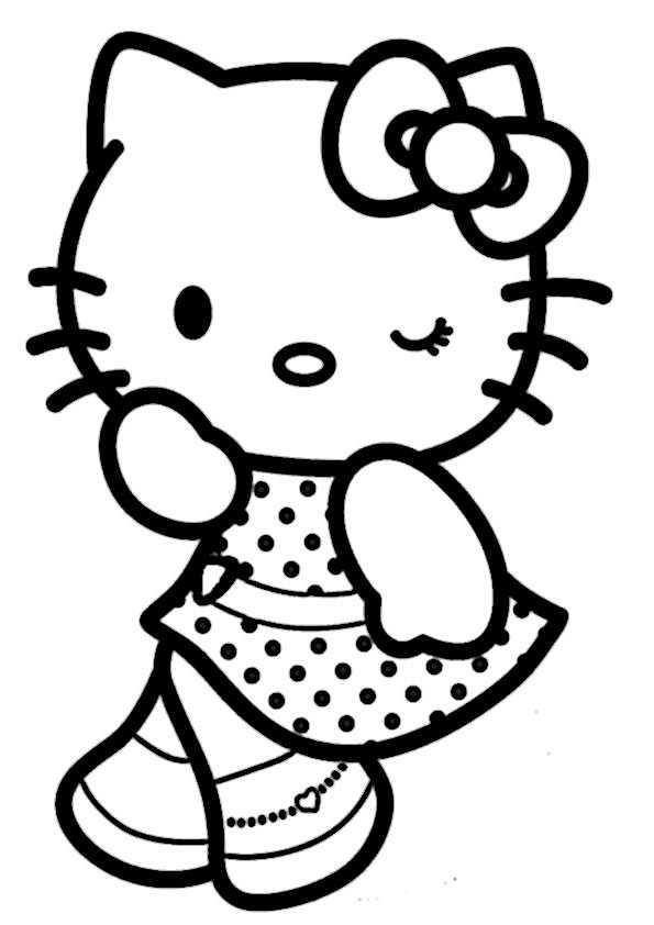 ausmalbilder hello kitty-47